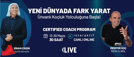 """""""CERTIFED COACH"""" EĞİTİM PROGRAMI İnteraktif Canlı Yayın Eğitimi"""