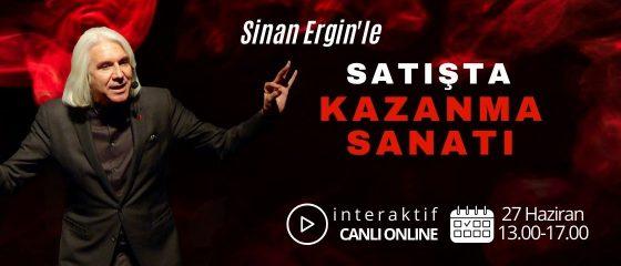 Sinan Ergin'le 'Kazanma Sanatı' – Online