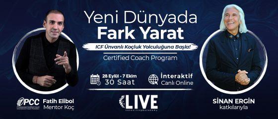 """Certified Coach"" Eğitim Programı Online"