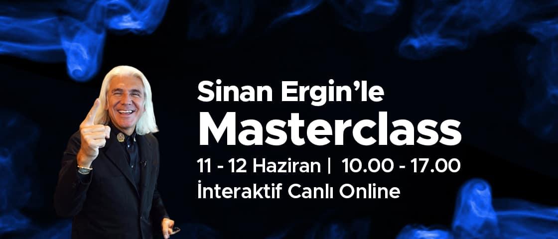 Sinan Ergin'le Masterclass