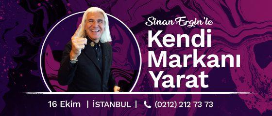 Sinan Ergin'le Kendi Markanı Yarat – İstanbul